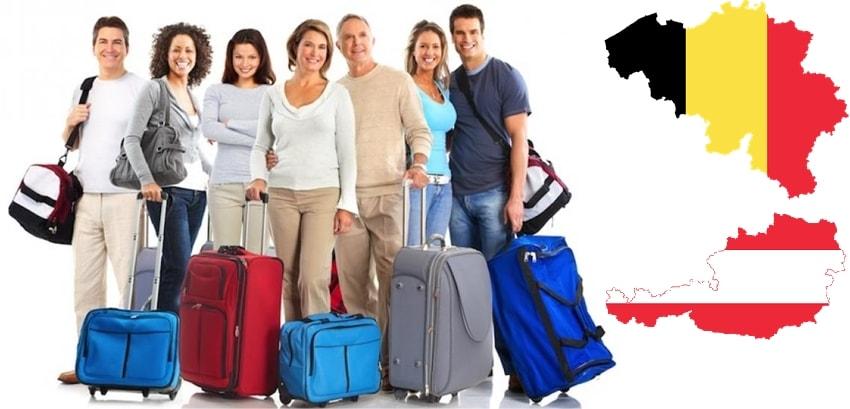 транспорт от България до Белгия и Австрия