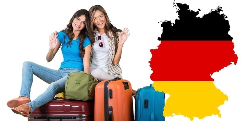 превоз за Германия
